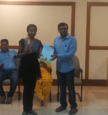 Vandana Babu places 3rd in Smart Brains Chess Tournament - 2016
