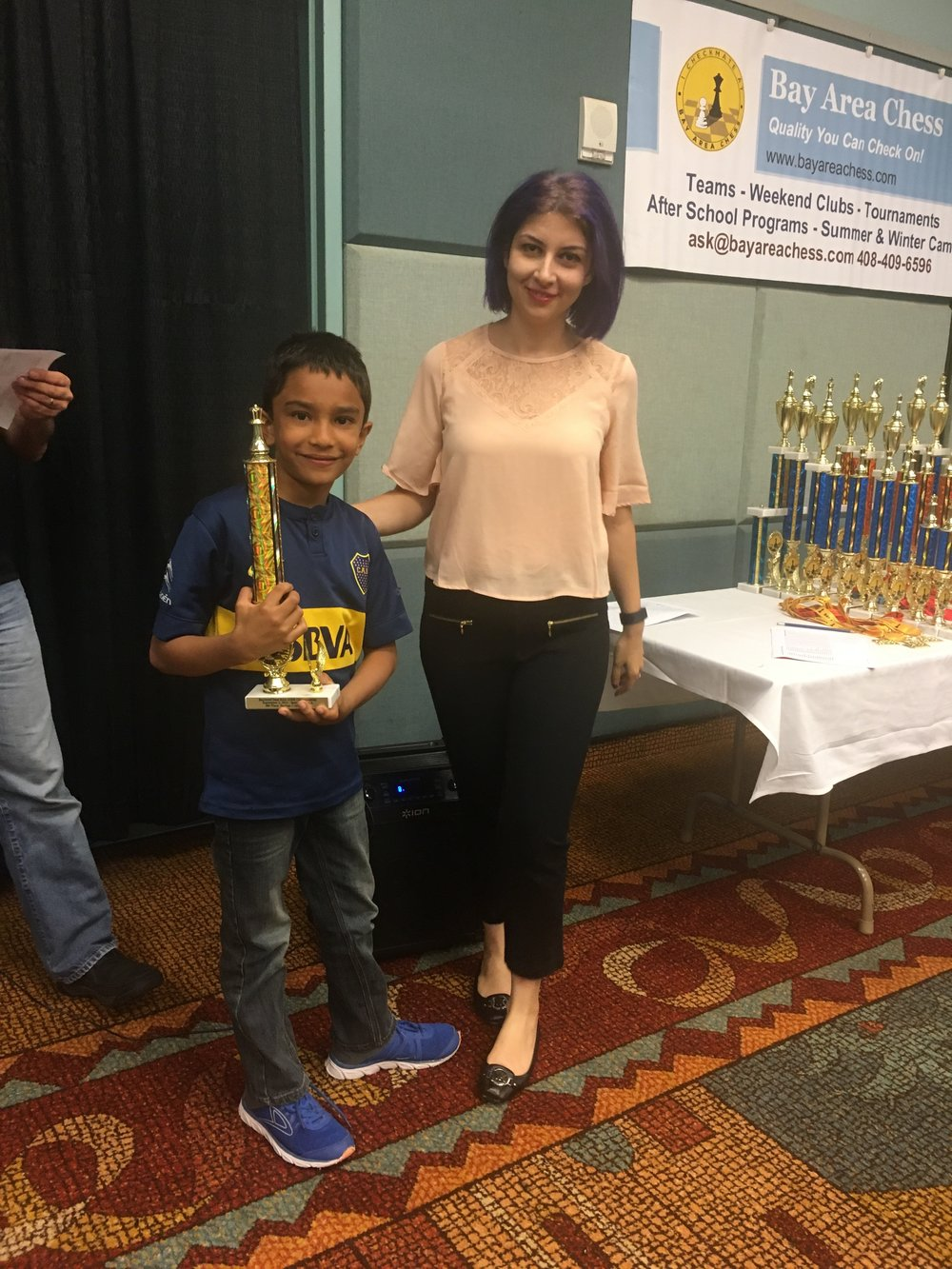 Vidyut places 1st in the Bay Area Chess Tournament held in USA - 2016