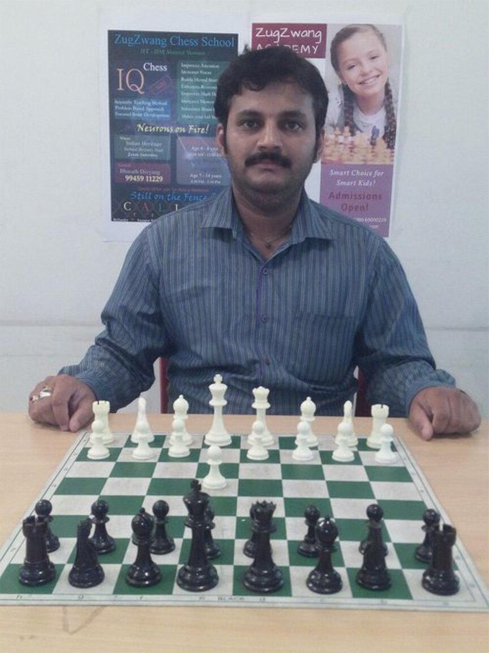 Name: Vinayak Kumar Coach Level: Level C Target Students: Beginner Experience: 2+ years Availability: No