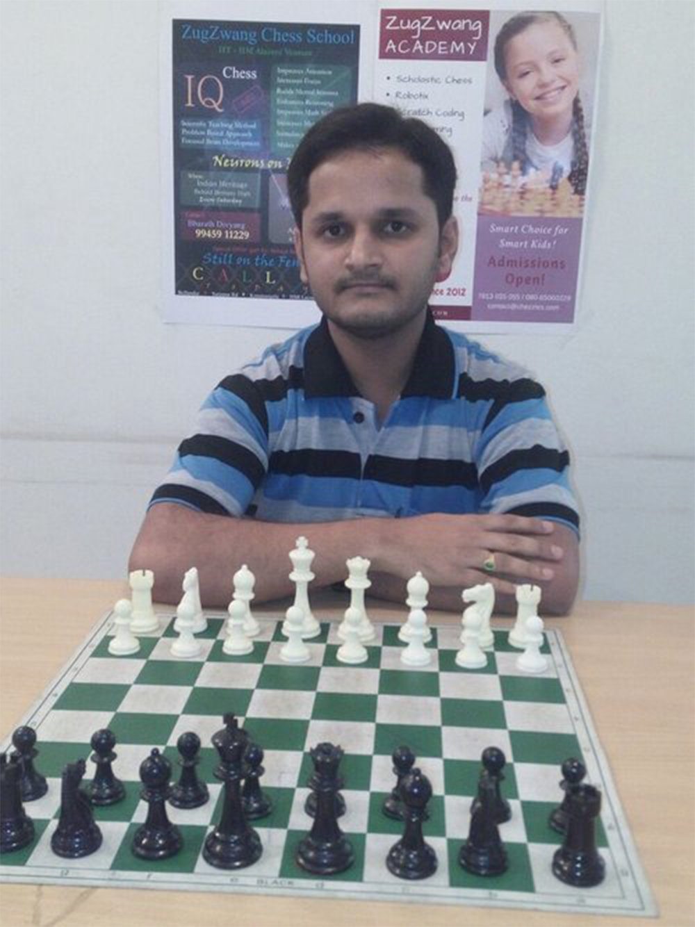 Name: Vijay Kumar Coach Level:  Level B Target Students: Beginner/Intermediate   Experience: 3+ years    Availability: Yes