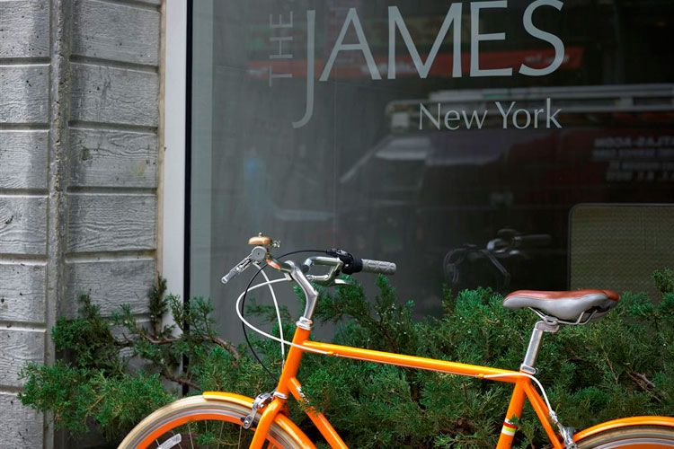 The James New York