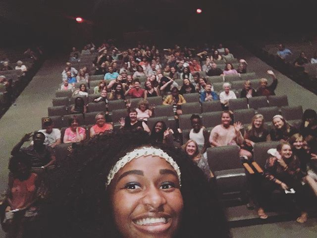 Haha! I had a great time performing in the show at river ridge high school!! #ilovewhatido #puretalent #singingislife