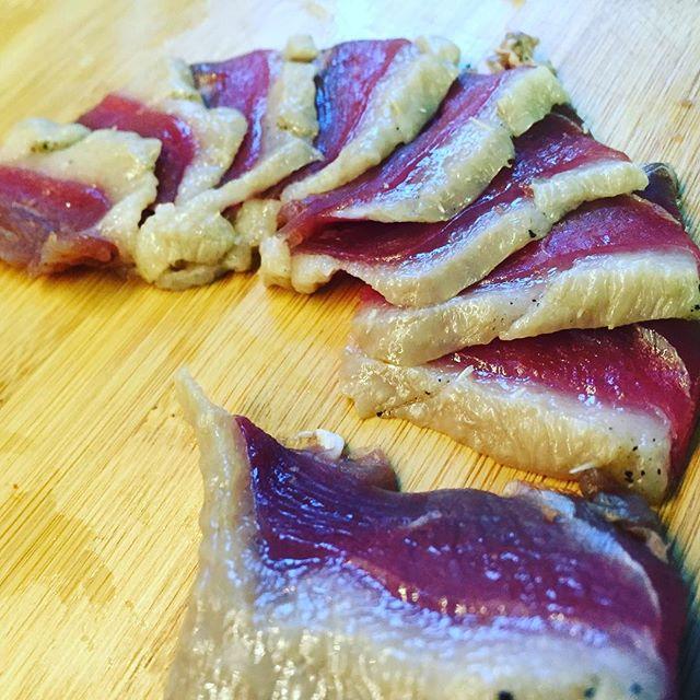 #duck #duckbacon #bacon #cured #curedmeats #organicduck #lasbest #pasadena #southpasfarmersmarket  #hisandhers