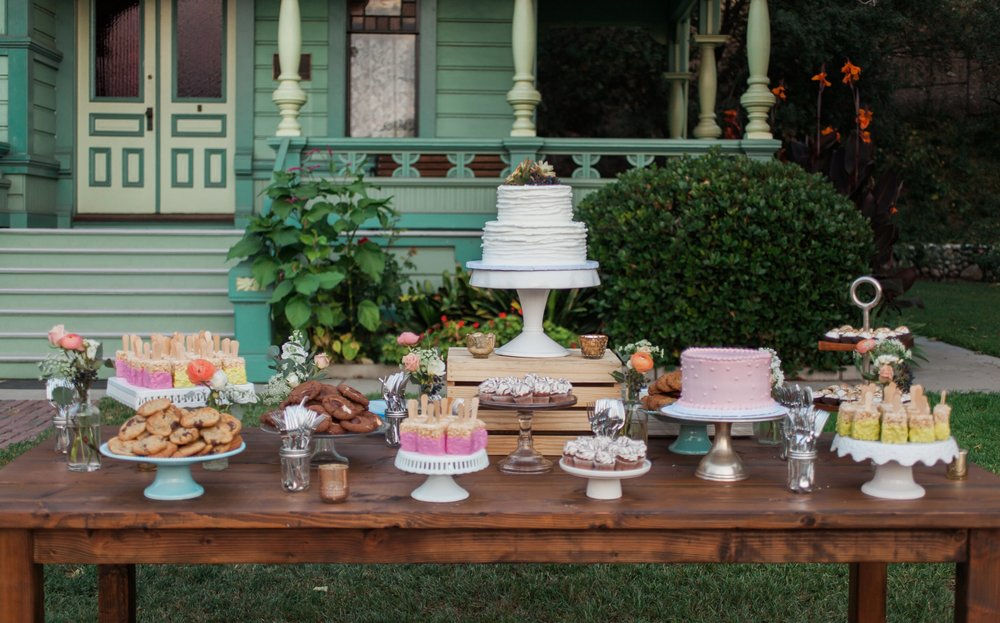 Dessert Table Decor His Hers Event Rentals His And Hers Kitchen