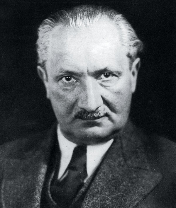 #Heidegger, Primary Influence Of  The Patriot