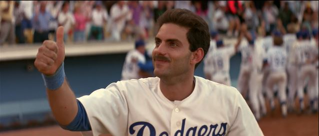 The Jet's 'stache, after he stole home