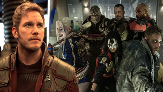 Chris Pratt says Suicide Squad flopped because of too many characters.  - In reality, the failure to make a convoluted web of spin offs and sequels led to Suicide Squad's poor performance.