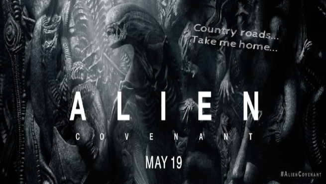 Alien: Covenant uses john denver's