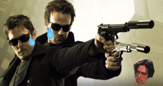 The Boondock saints upcoming tv series will not star sean patrick flanery or norman reedus. - Not being in the show might hurt their careers but will increase their artistic dignity.