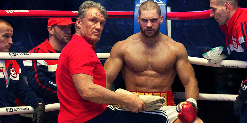 Drago Lundgren with his son, Strong Russian Guy