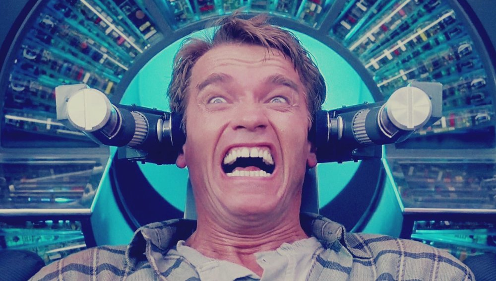 arnold schwarzenegger, total recall, kuato, inception, dream, dream movie, philip k dick, paul verhoeven