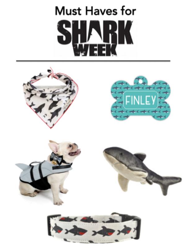 Bandana Link     Collar Tag    Lifejacket    Mac the Shark Toy    Shark Collar