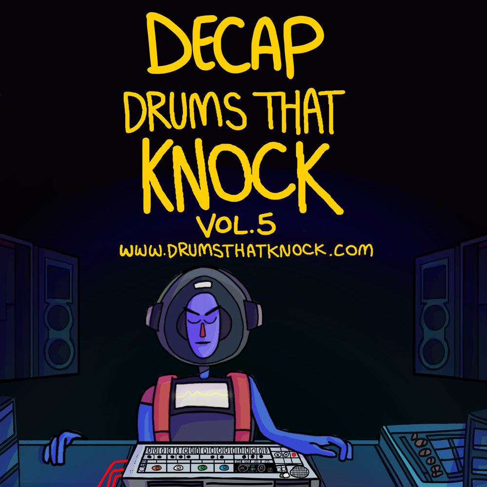 Drums That Knock Volume 5. Branding Cover (For Splice)  -