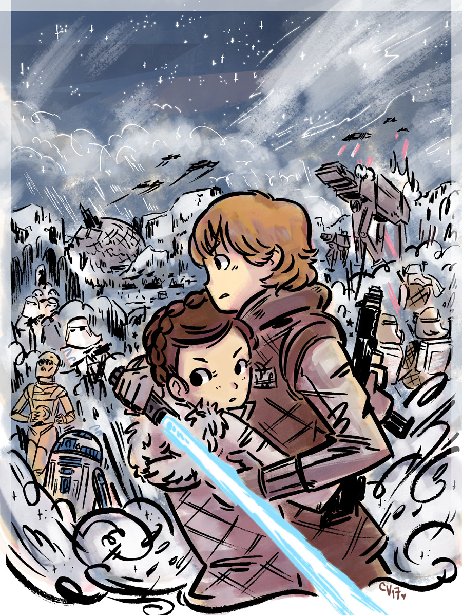 Star Wars: Luke & Leia