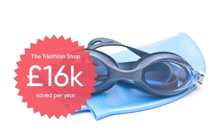 the triathlon shop saved £16000 per year with brightpearl