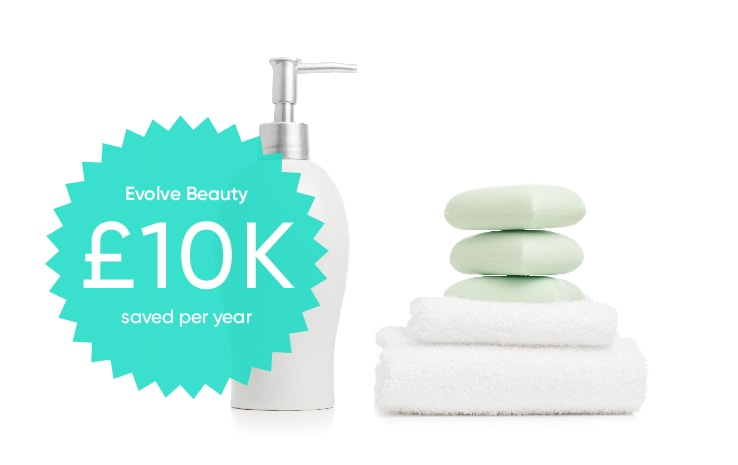 evolve beauty saved £10,000 per year with Brightpearl