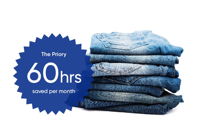 the priory saved up to 60 hours per month with Brightpearl's multichannel inventory software