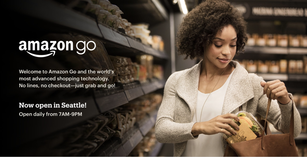Amazon Go Just Walk Out Technology