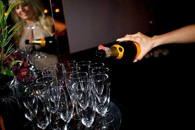 Champagne at The Arlington Ballroom