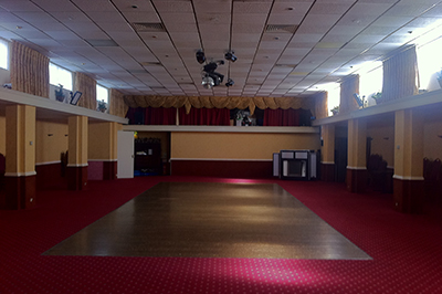 Interior of The Arlington Ballroom 2012 Pre-Renovation