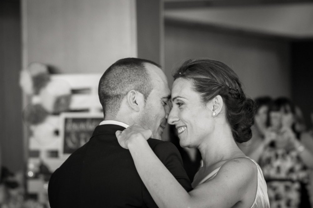 Black and White First Dance at The Arlington Ballroom, Essex