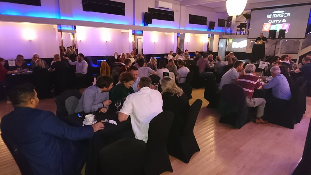 Curry and Quiz Night at The Arlington in Southend-on-Sea, Essex