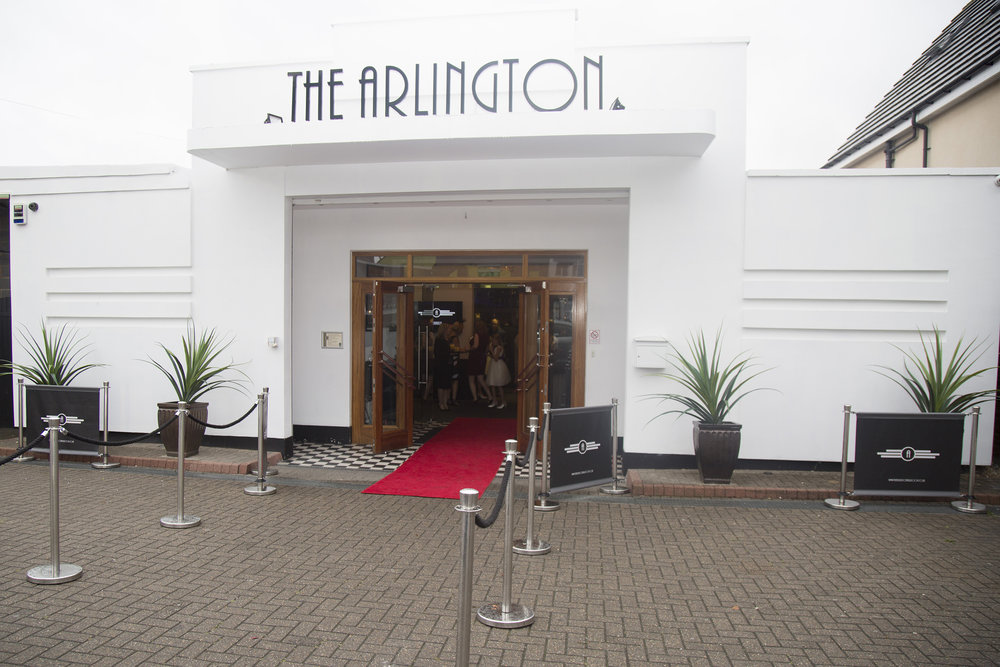 Red Carpet Entrance to The Arlington Ballroom Southend