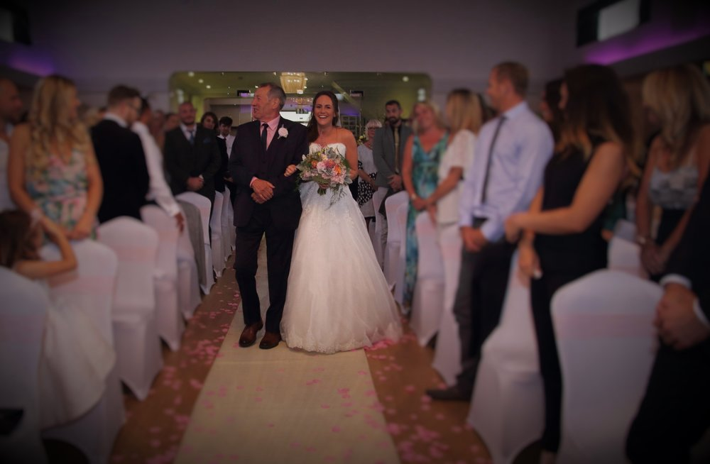 Wedding Ceremony at The Arlington Ballroom Southend-on-Sea