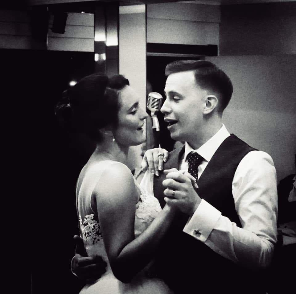 Jessica and Joe's Wedding at The Arlington Ballroom Southend black and white