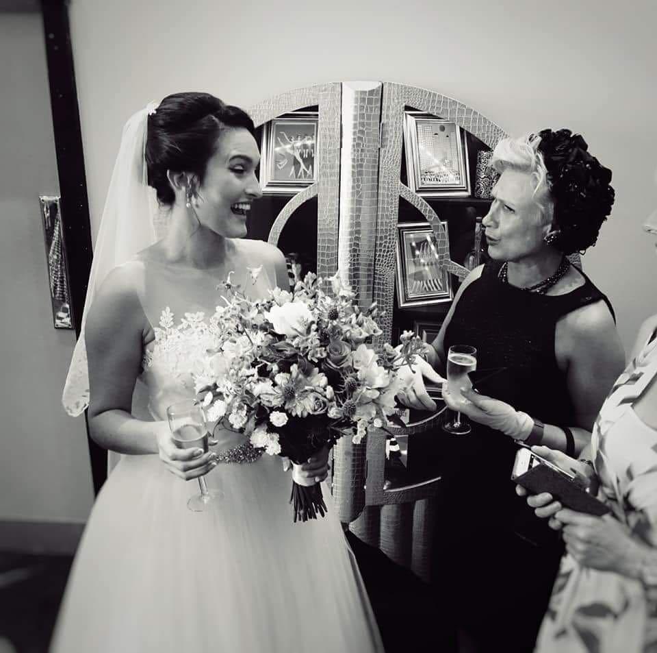 Wedding Bouquet at The Arlington Ballroom Essex