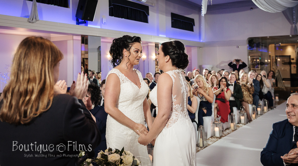 Jodie & Nicole LGBT Wedding Ceremony at The Arlington Ballroom Essex