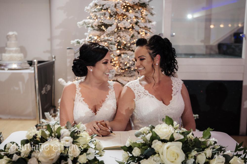Jodie and Nicole Wedding Ceremony Winter 2018