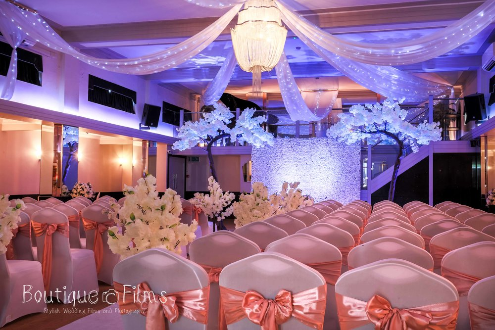 Pink and Blue Wedding at The Arlington Ballroom, Southend-on-Sea