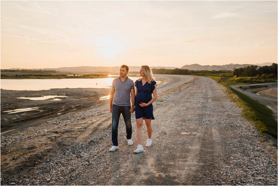 nosecnisko fotografiranje v naravi ljubljana primorska maribor slovenija kranjska gora sonce soncni zahod nosecnost pricakovanje 015.jpg