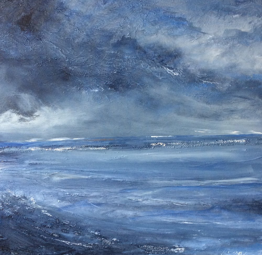 Painting Of A Storm By Mick Oxley - Featured On Creative Sparq
