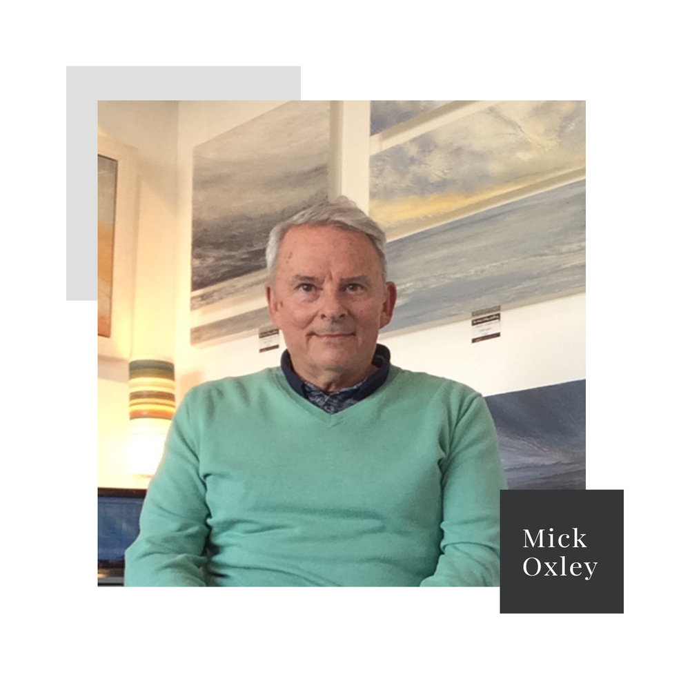 How To Make A Career Transition To A Painter With Mick Oxley