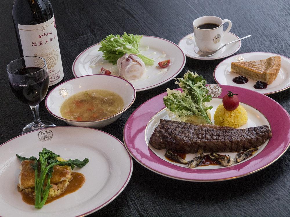 Marion信濃度假旅館マリオンシナノ 洋食コース例2.jpg