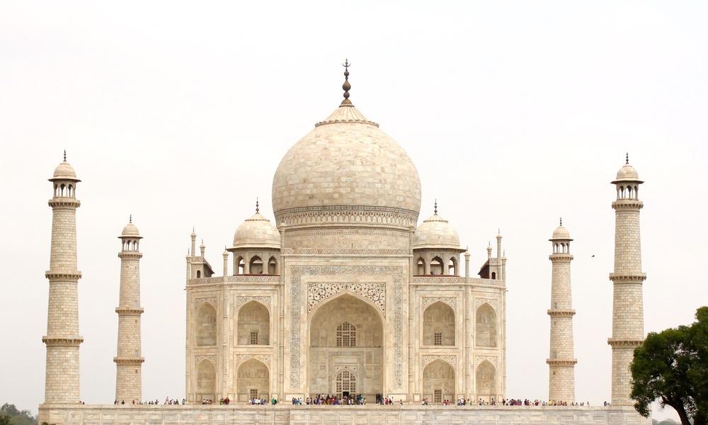 Das Taj Mahal - Liebe auf den ersten Blick
