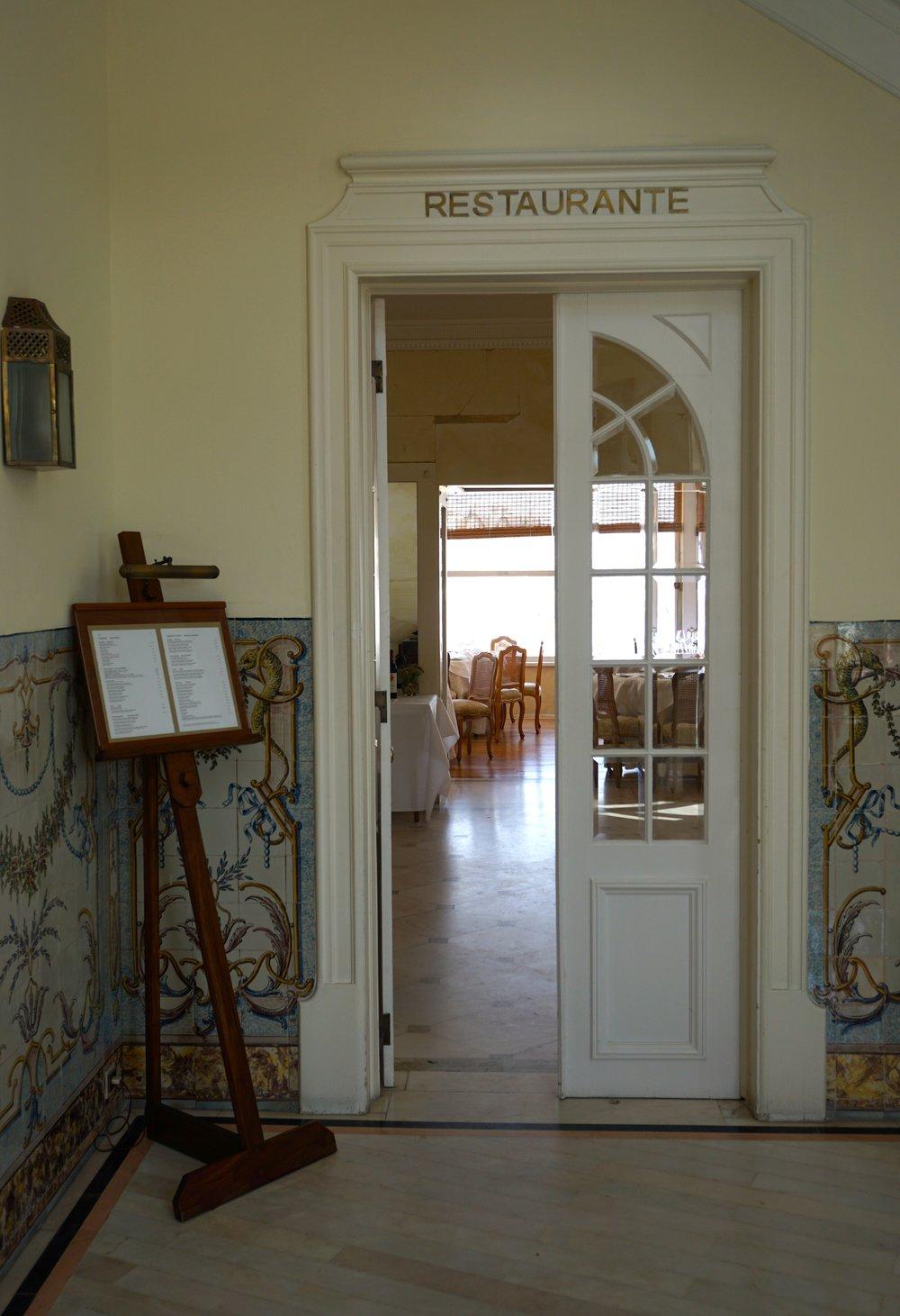 Restaurant im Hotel Albatroz