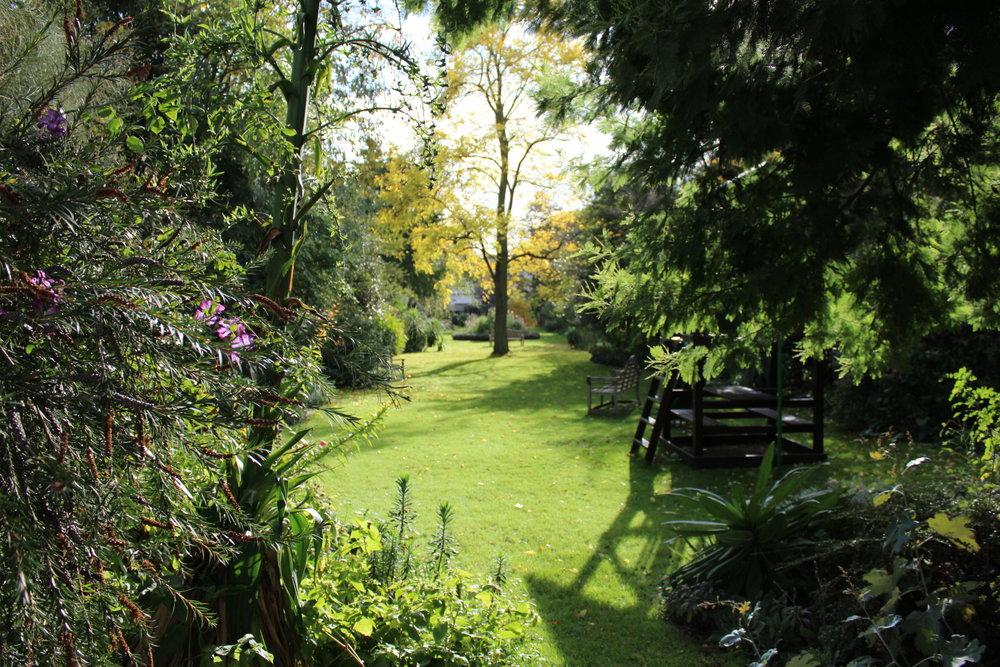 Kleiner privater Park in Chelsea.