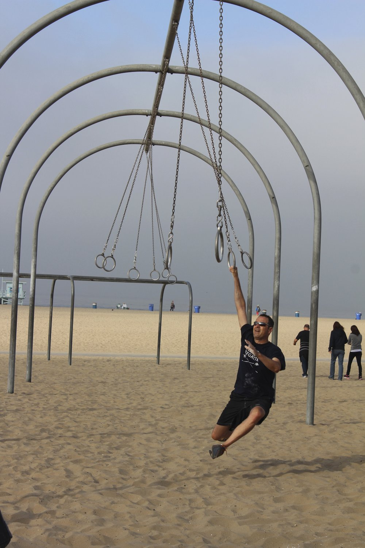 Muscle Beach in Santa Monica