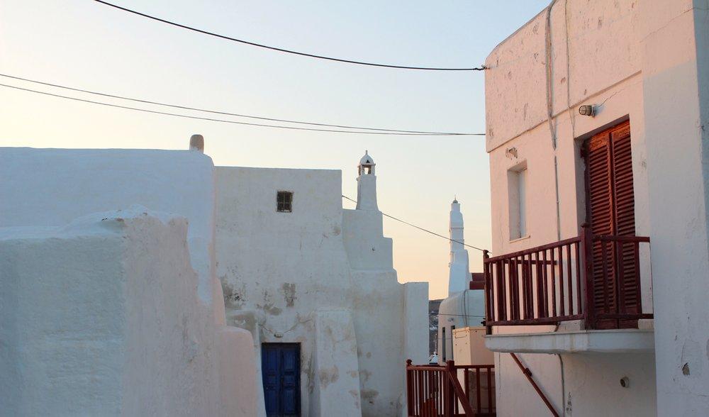 Energie tanken - dafür ist Mykonos der richtige Ort.