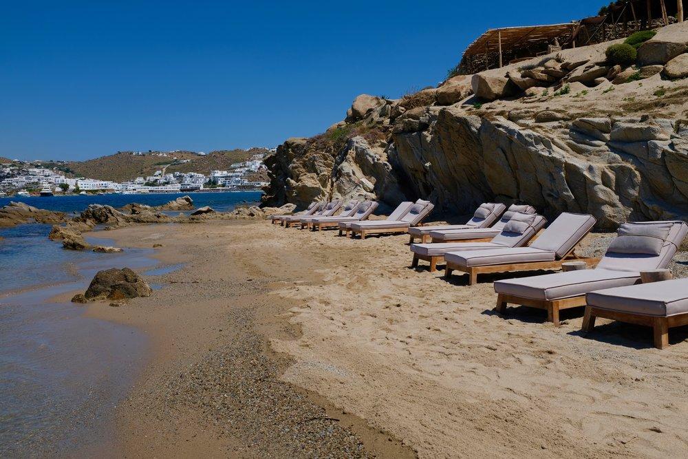 BeFifty Beate Finken Blog für Frauen über 40 und über 50 Reisetipps Mykonos Scorpios Beach Club Tipps Mykonos