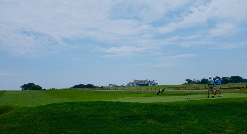 Der Golfplatz in East Hampton.