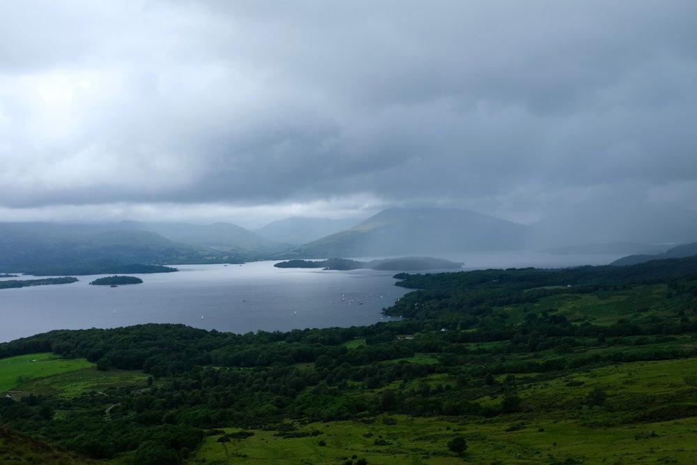 Loch Lomond Schottland Reiseblog