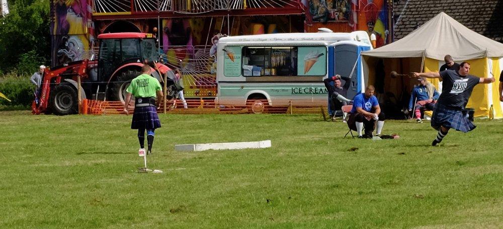Highland Games Schottland Reiseblog