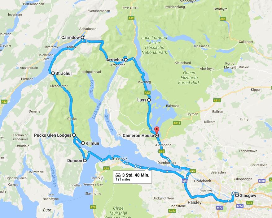 Loch Lomond Schottland Reiseblog ü50