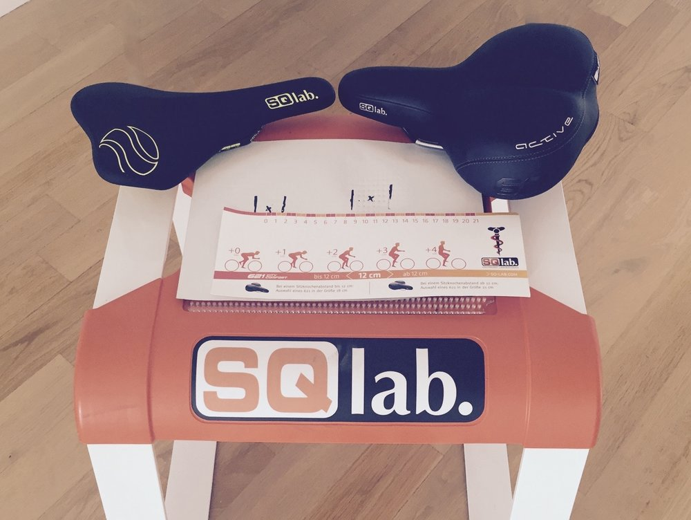 Sqlab Sitzknochenvermessung Tibor Simai Fahrrad Sattel Ü50