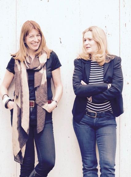 Die Gründerinnen von NASCHBAG: Cristina und Anne-Nathalie     kb