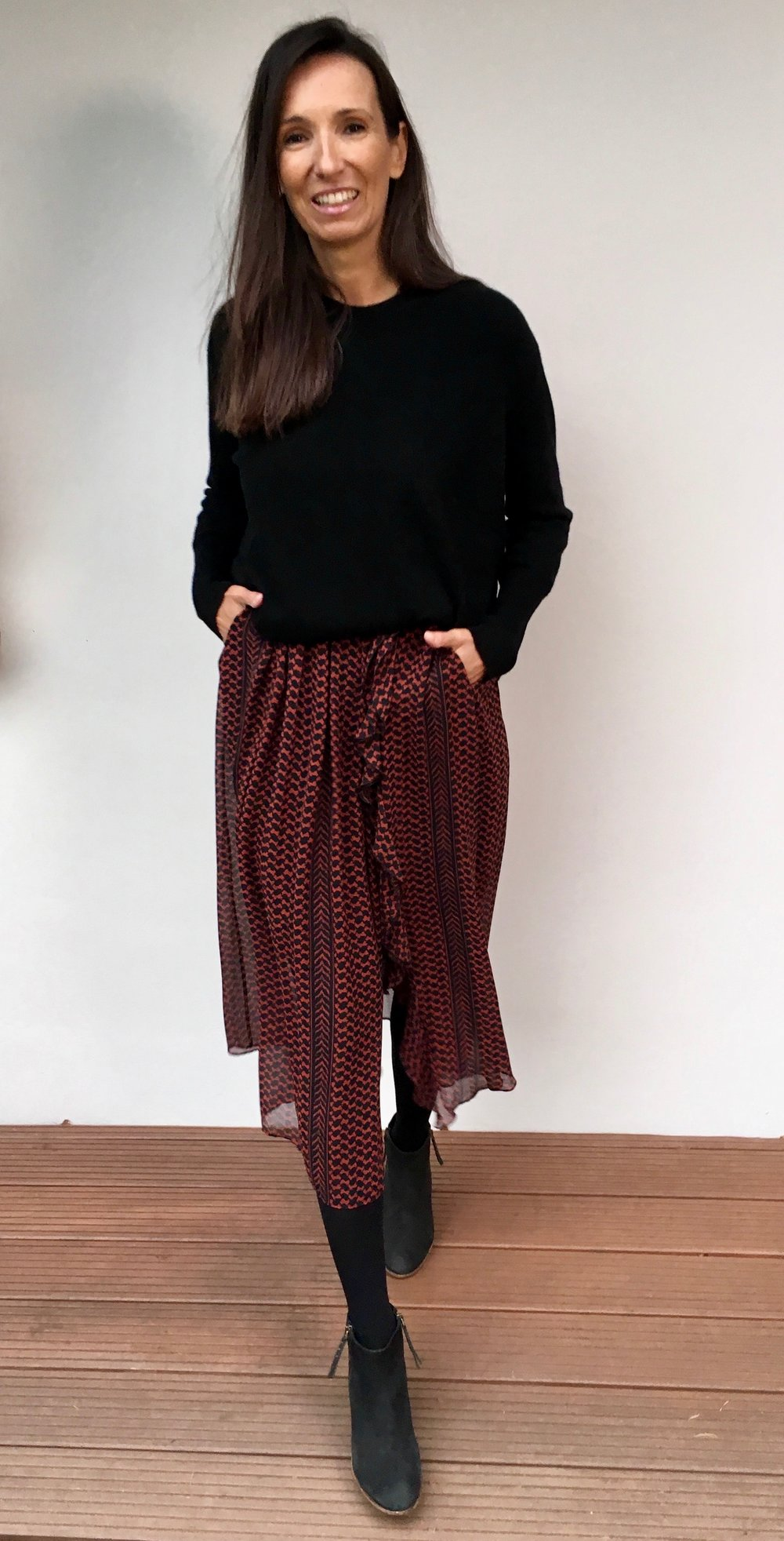 lala Berlin 1 Kleid 4 Looks BeFifty Blog für Frauen über 50 Mode für Frauen über 50